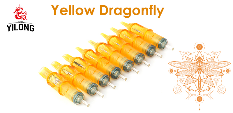 2017 Yellow Dragonfly Cartridge Needles